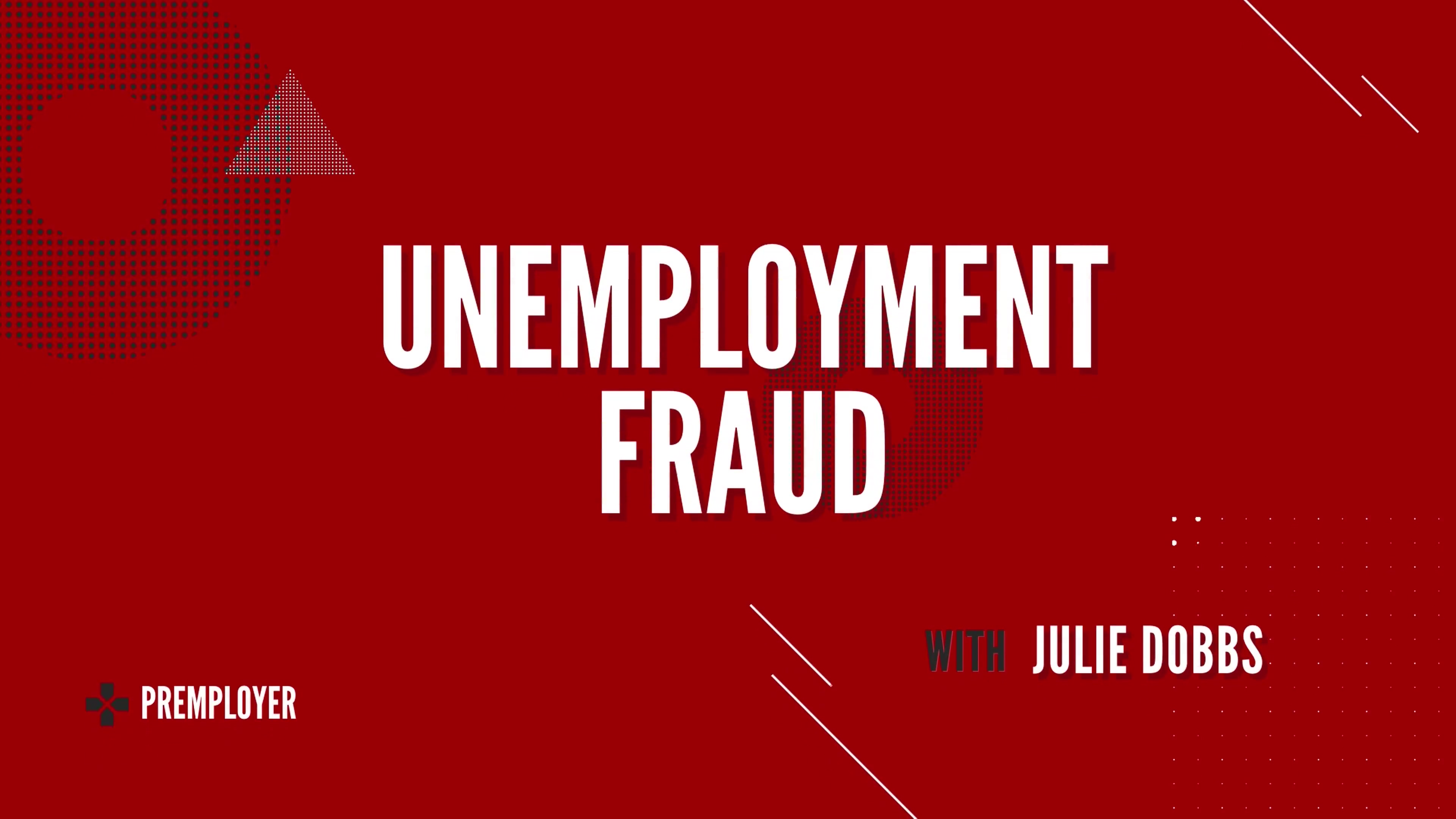The Facts about Unemployment Fraud